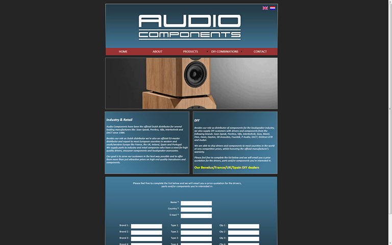 Audiocomponents