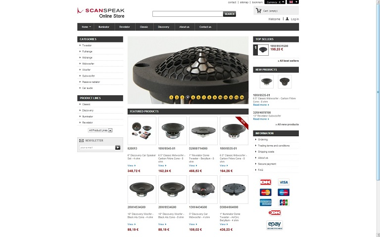 Scan-Speak Online Store